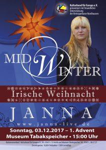 Midwinter - Irische Weihnacht  mit dem Trio JANNA @ Museum Tabakspeicher   Nordhausen   Thüringen   Deutschland