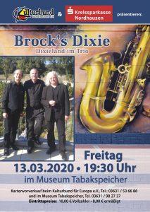Brock's Dixie - Dixieland im Trio @ Museum Tabakspeicher