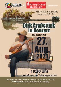 """Dirk Großstück in Konzert - The Best of Dirk @ Museum """"Tabakspeicher"""""""